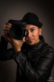 Fotógrafo profissional em Paris .