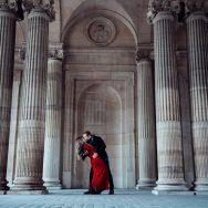 Pedido de noivado em Paris