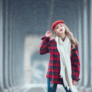 Neve e 15 anos da Andreza em Paris