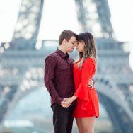 Paris e seus encantos – Aline & Thiago